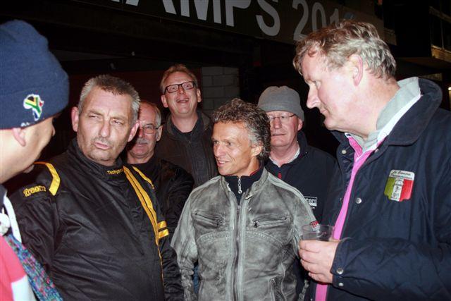 Allard Kalff, Jan Lammers en Michiel Campagne bij de Spa Six Hours