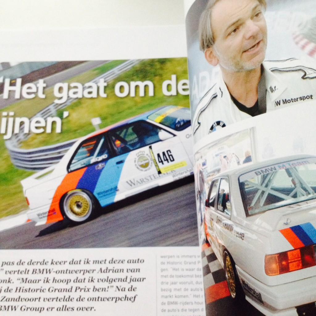 Adrian van Hooydonk in AM Youngtimer