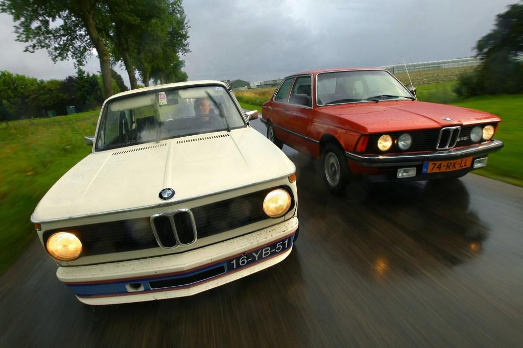 BMW 2002 Turbo en BMW 323i E21