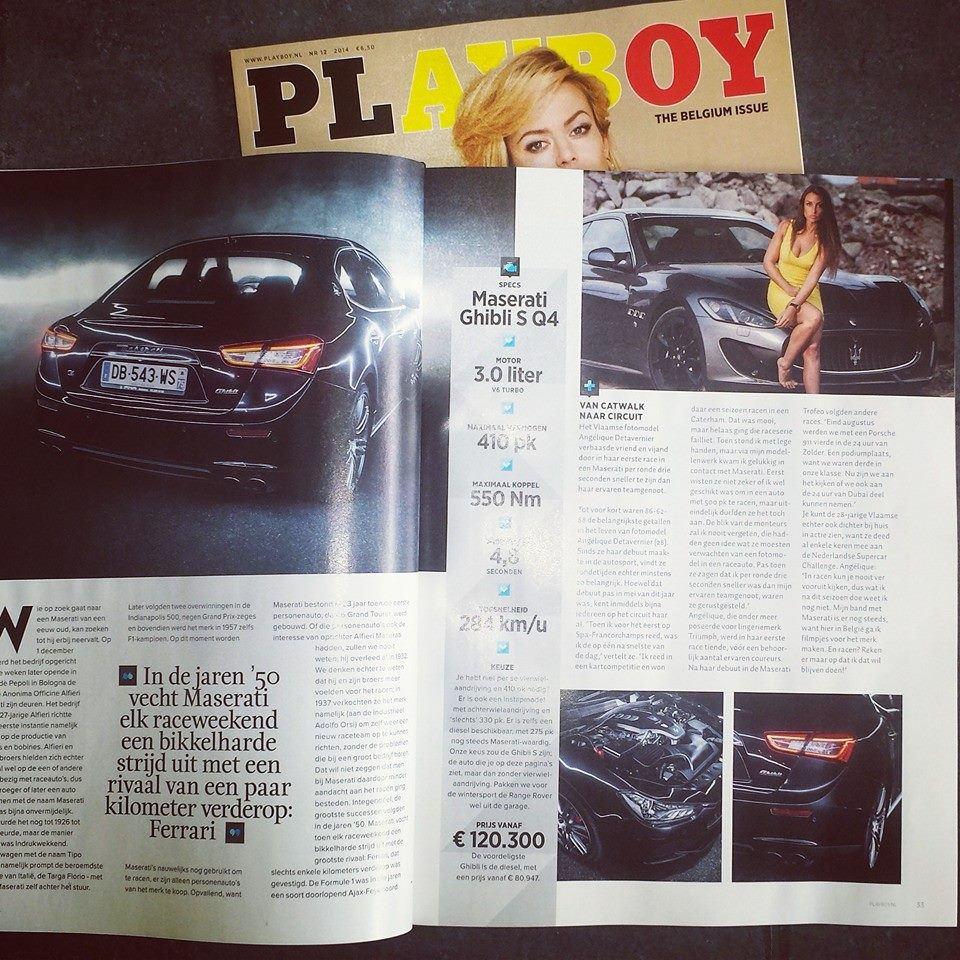 Angélique Detavernier in Playboy