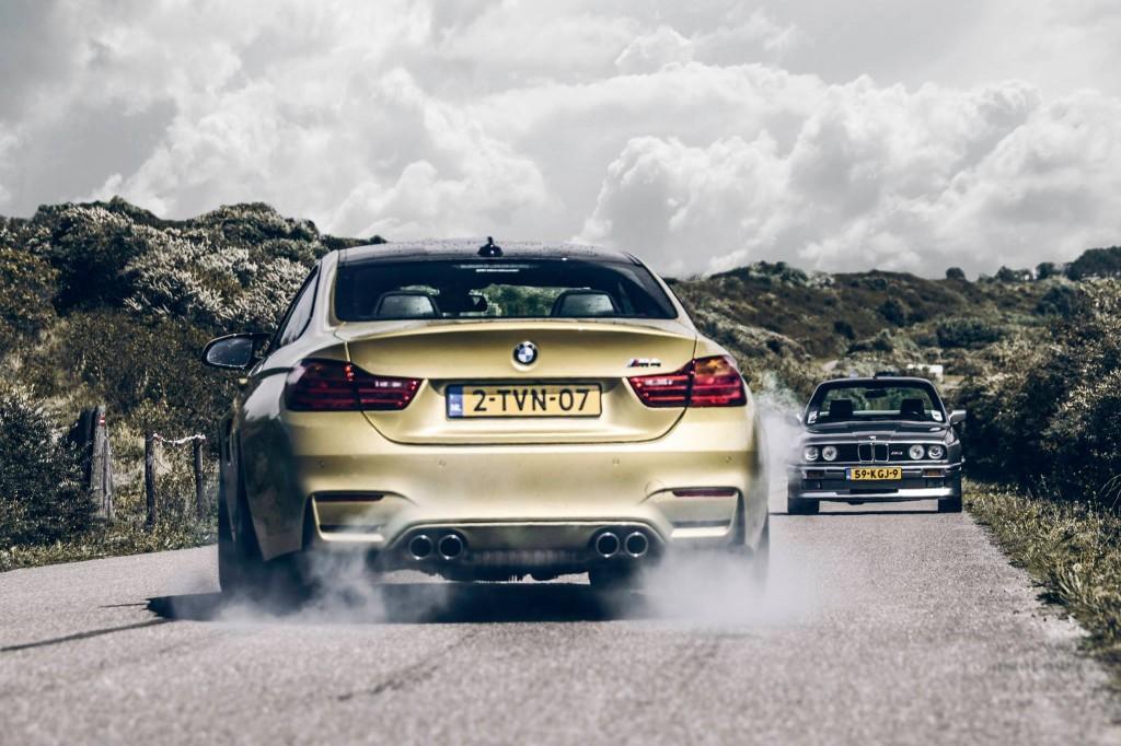 BMW E30 M3 & BMW M4 Coupe - foto Luuk van Kaathoven