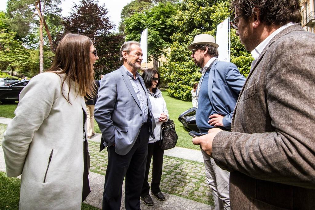 Valentino Balboni op Villa d'Este
